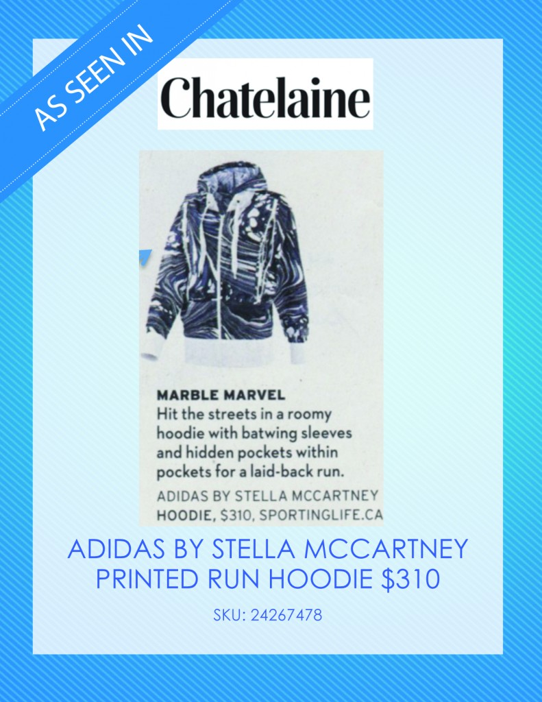 Chatelaine Magazine – April 9, 2014