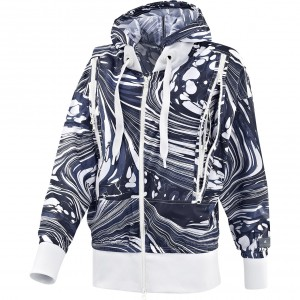 AdidasStellaMcCartney-WomensRunPrintedHoodie
