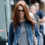 Julianne Moore is also a fan of the Gizeh Sandal
