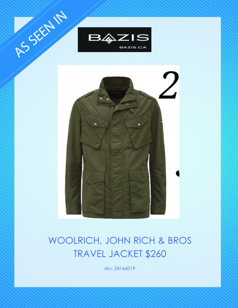 Bazis.ca Woolrich Travel Jacket