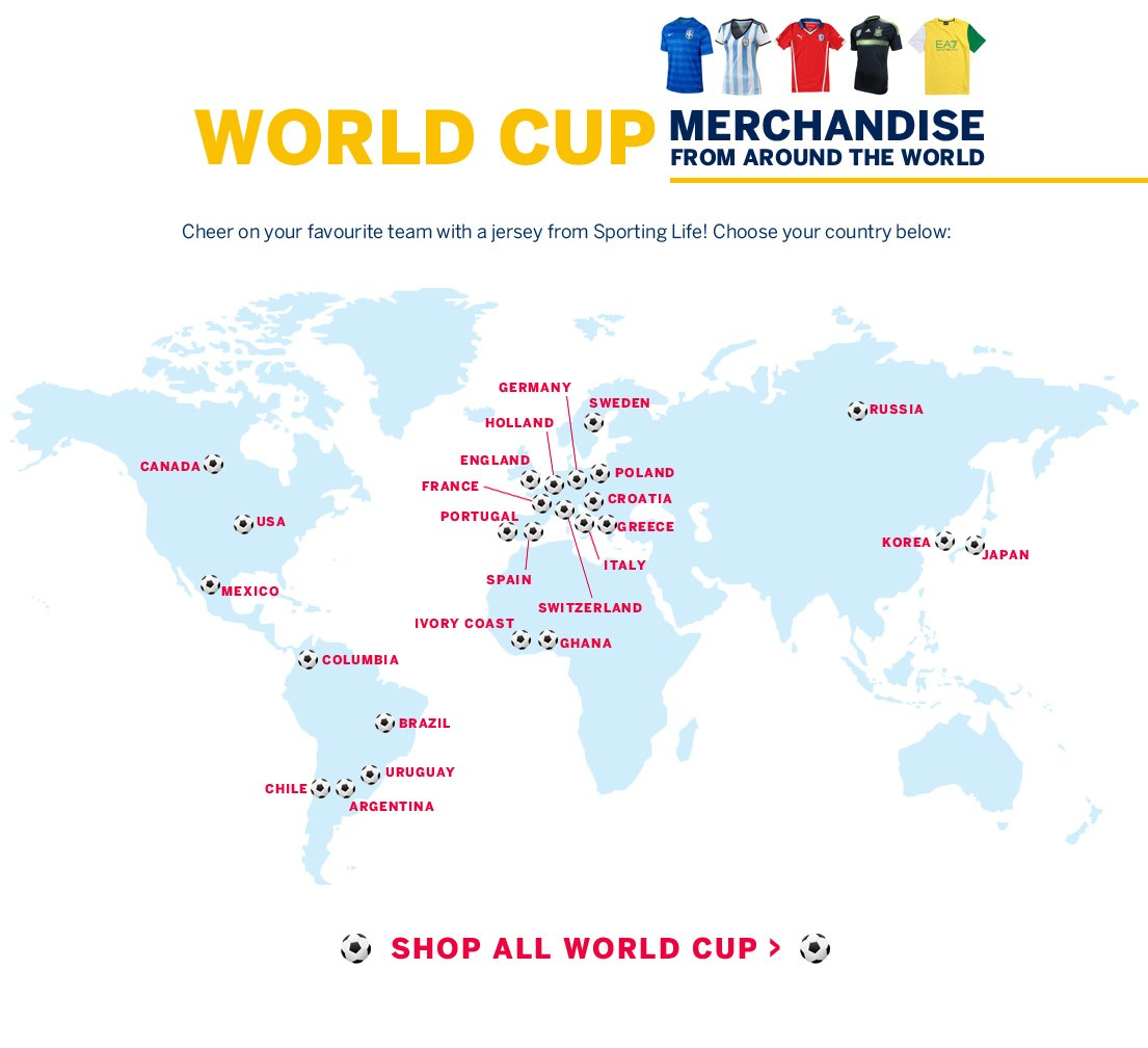 World Cup Shop