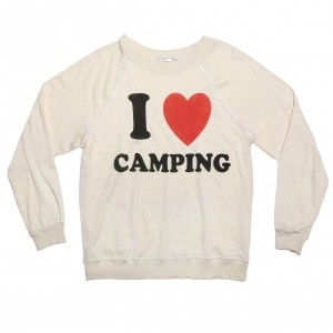 Wildfox-WomensILoveCampingTShirt