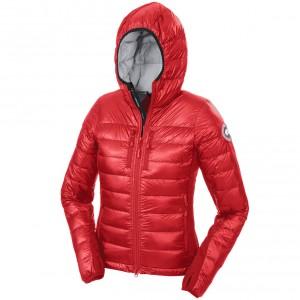 womenshybridgelitehoodyjacket-red
