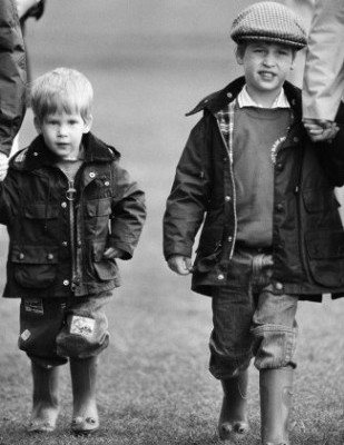 Prince William, And Prince Harry