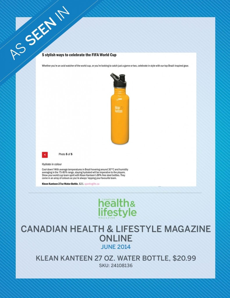 Canadian Health & Lifestyle Magazine – June 2014