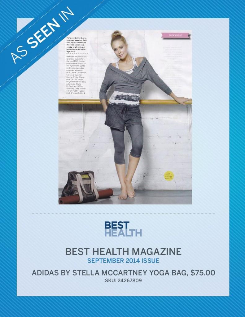 Best Health Magazine – September 2014
