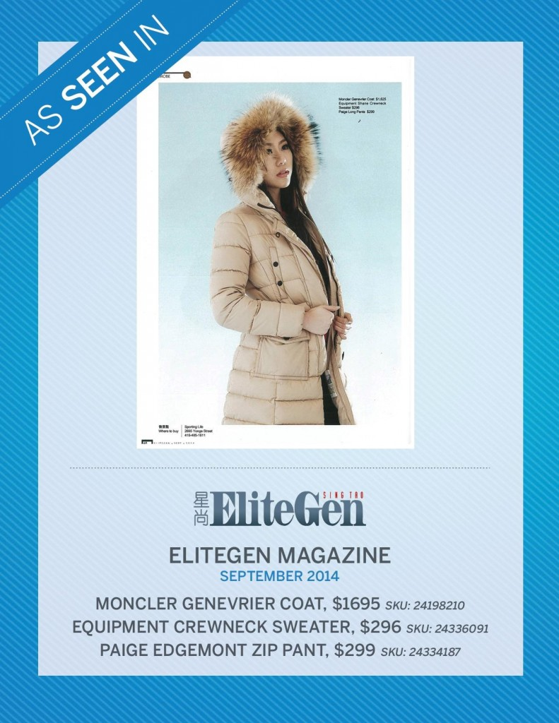 EliteGen Magazine – September 2014
