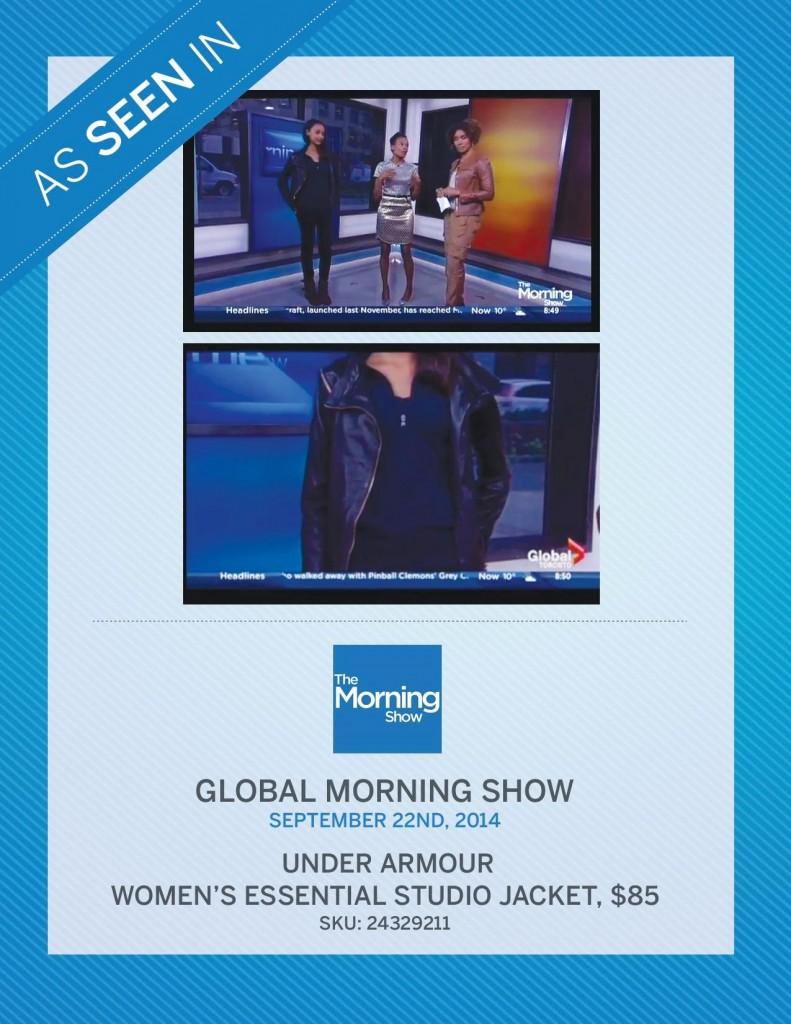 Global Morning Show – September 22nd, 2014