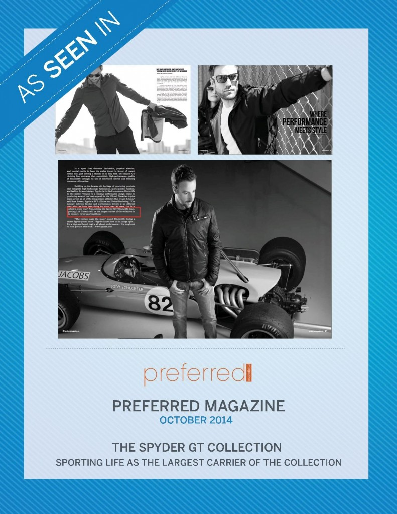 Preferred Magazine – October 2014