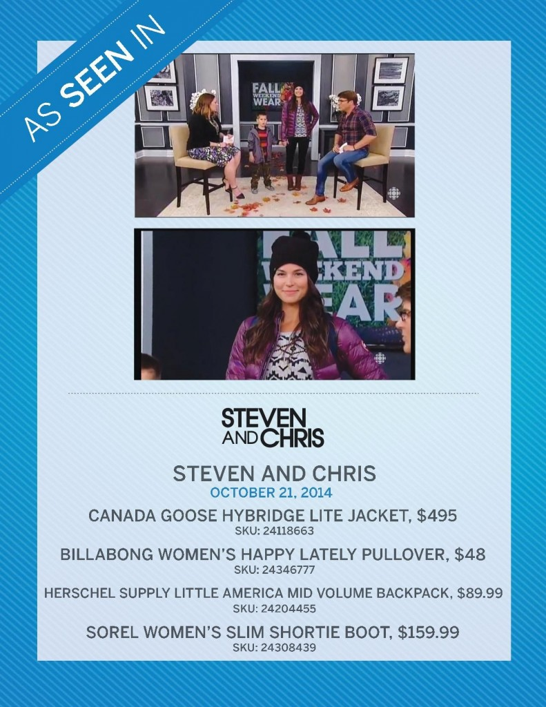 Steven & Chris – October 21st, 2014
