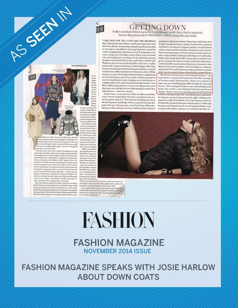 Fashion Magazine – November 2014