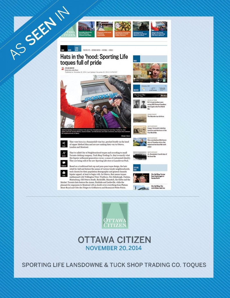 Ottawa Citizen – November 20th, 2014