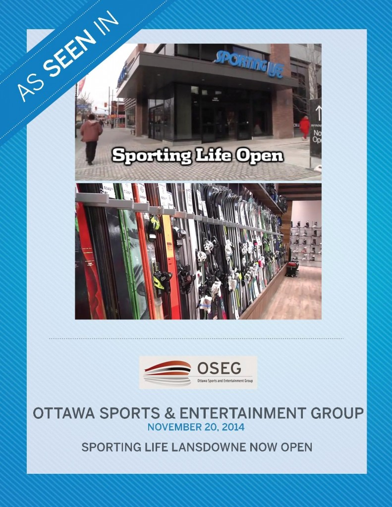 Ottawa Sports & Entertainment Group – November 2014