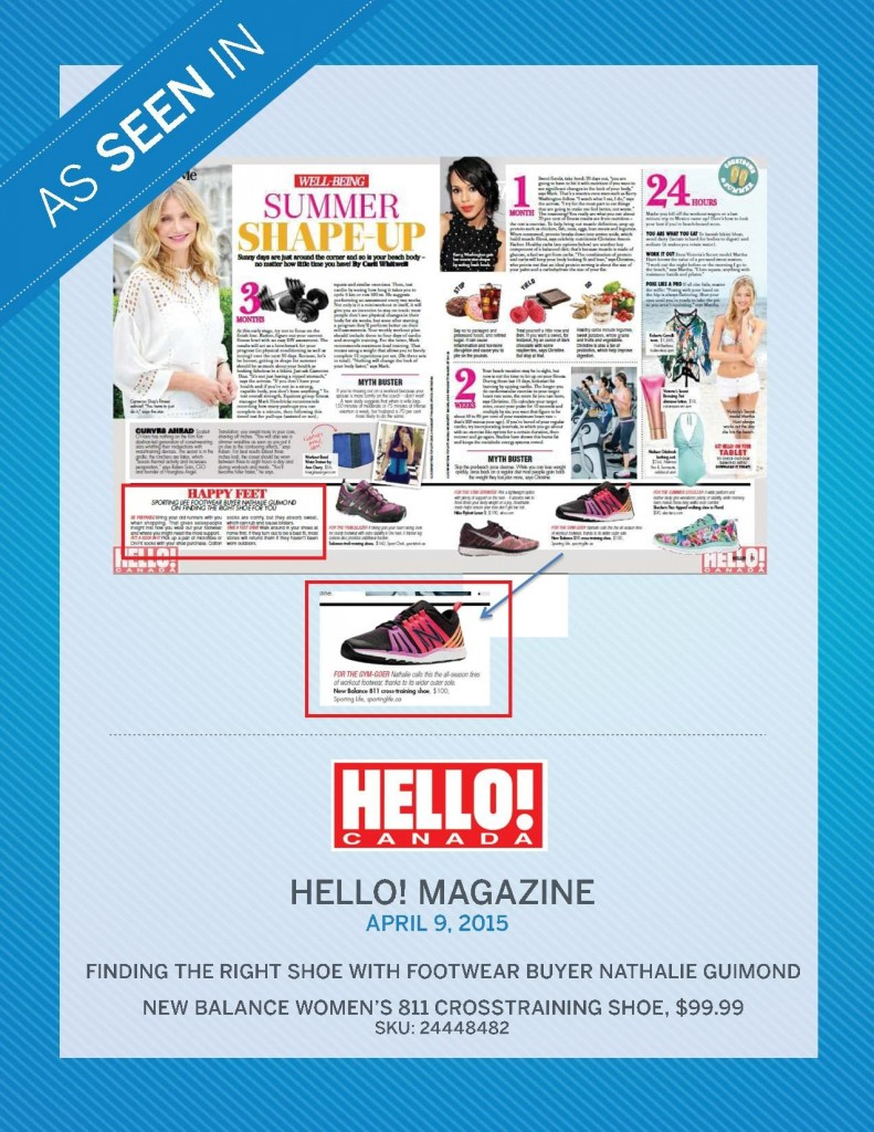 Hello Magazine – April 9th, 2015