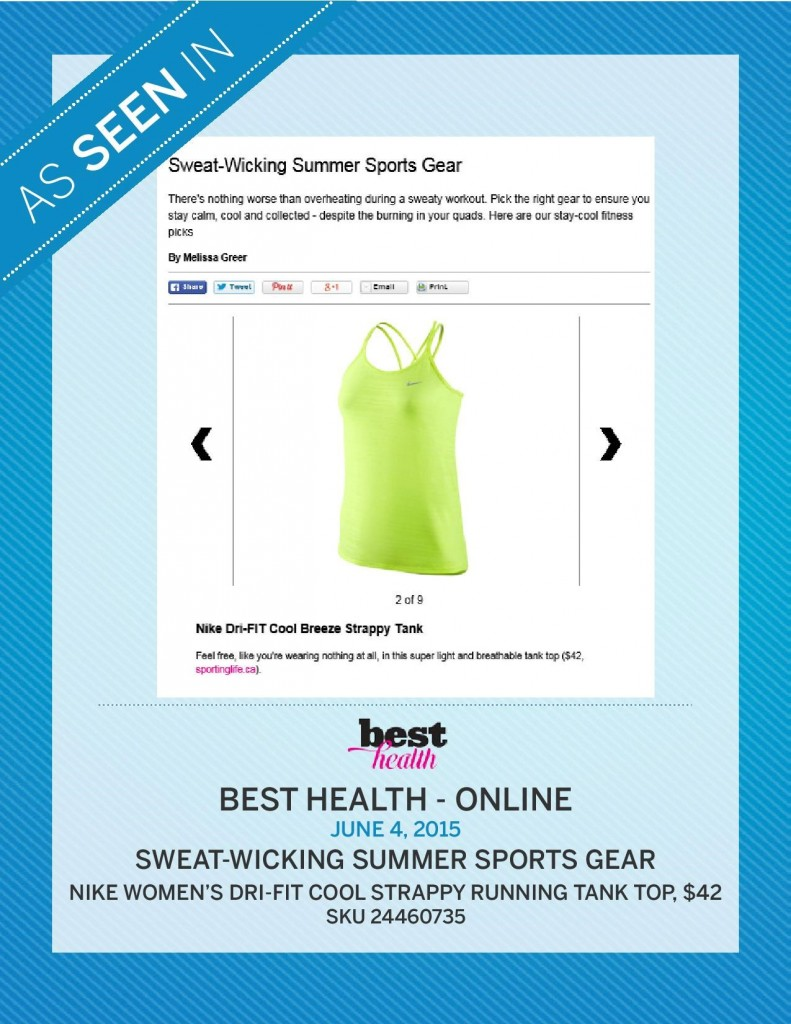 Best Health Magazine Online – June 4th, 2015