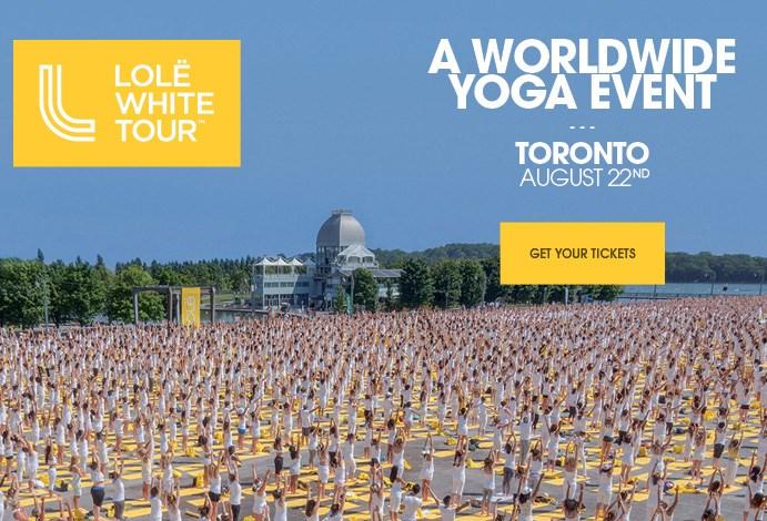 LOLË White Tour 2015 – Toronto