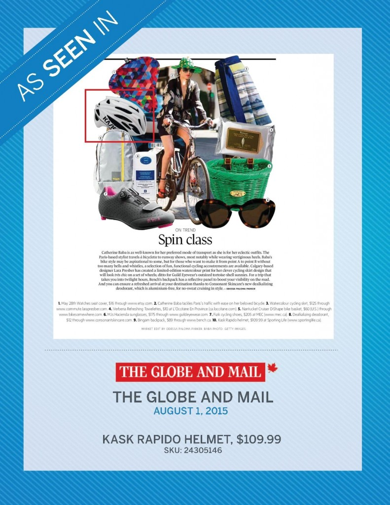 The Globe and Mail – August 1st, 2015