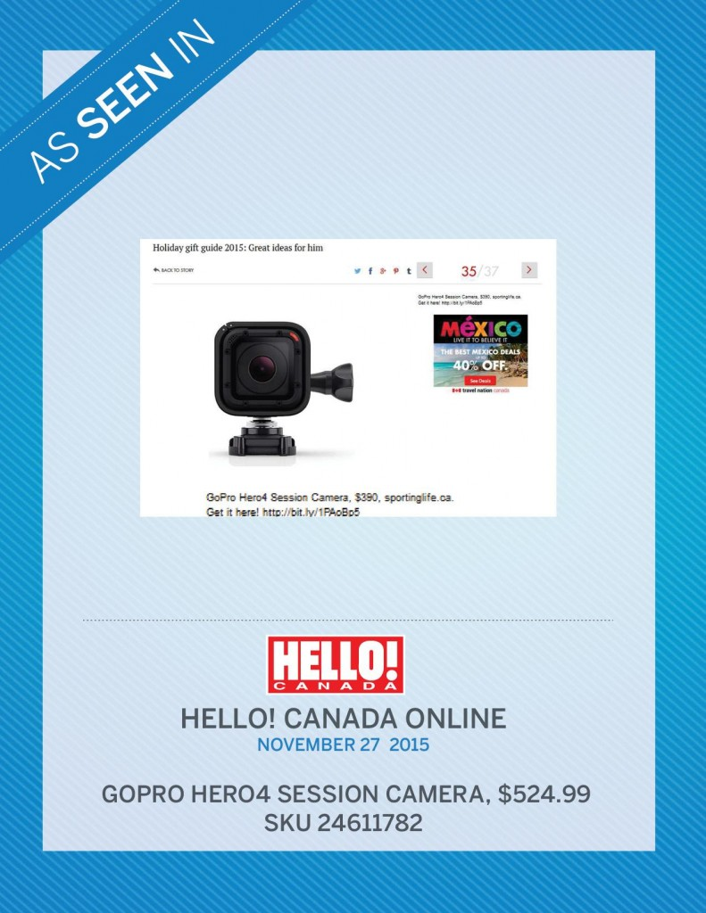 Hello! Canada Online – November 27th, 2015