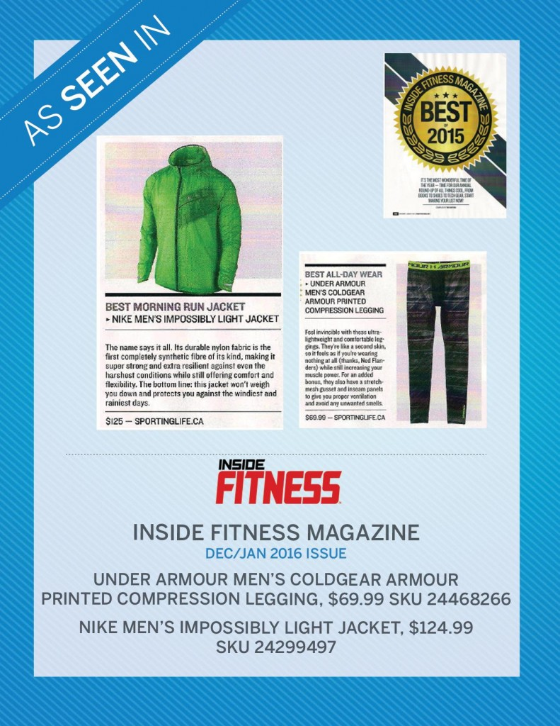 Inside Fitness Magazine – December | January 2016