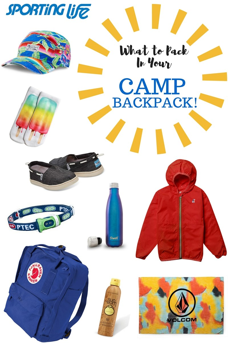 What to Pack in Your Camp Backpack
