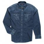 John Varvatos Indigo Shirt
