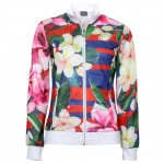 EA7 Abstract Floral Track Jacket