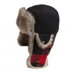 Woolrich Melton Trapper Plaid Wool Hat