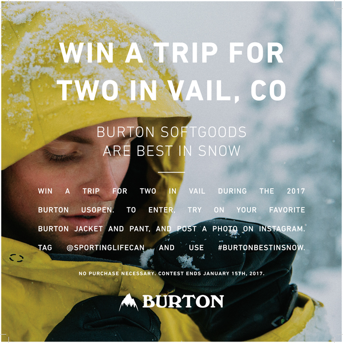 Burton Best in Snow Contest