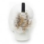 Harricana Women's Leather Fur Earmuff