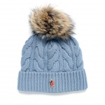Moncler Grenoble Women's Cable-Knit Beanie