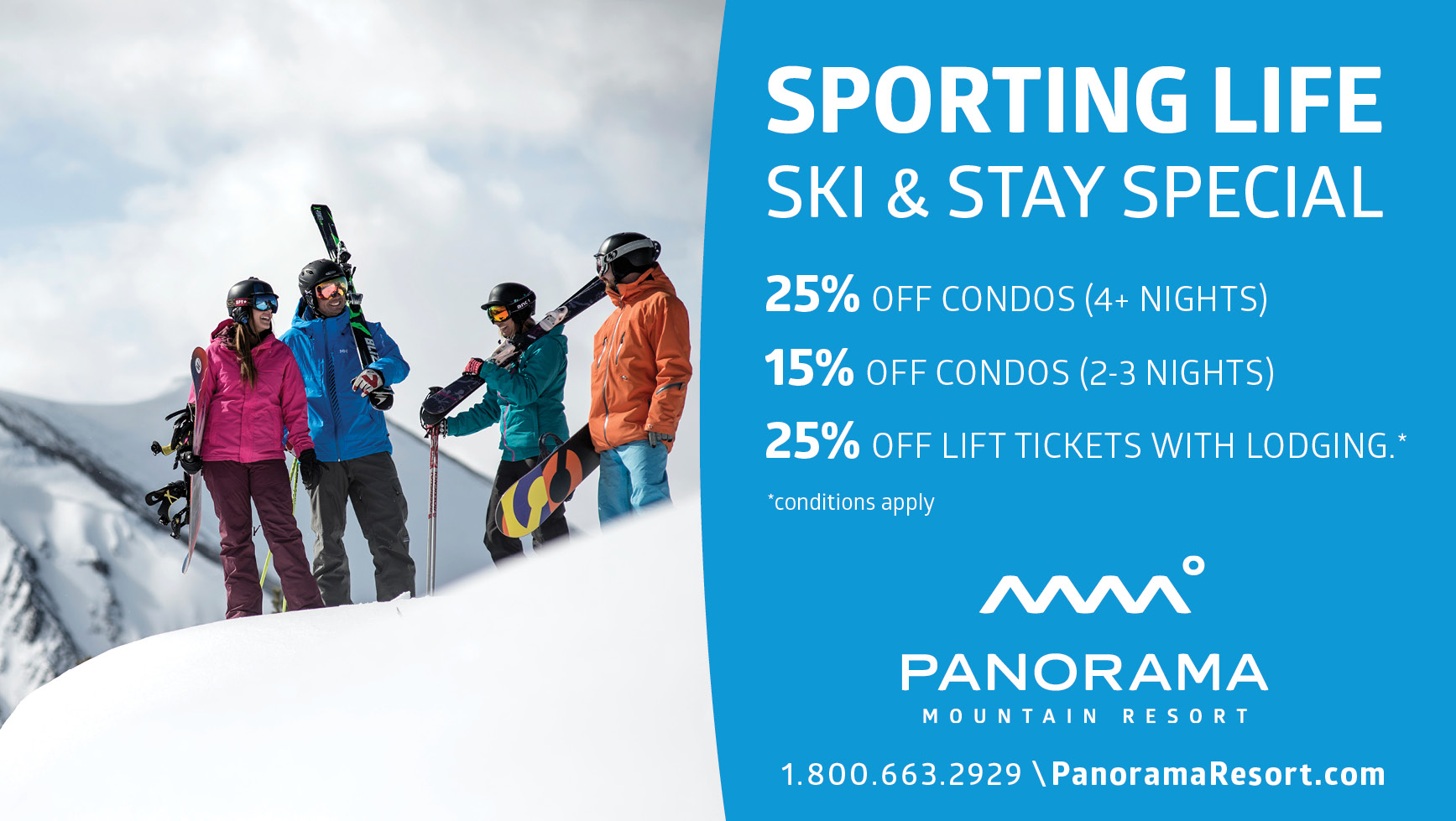 Panorama Resort Ski & Stay Special