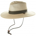 Men's Wide Brim Mesh Safari Hat