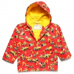 Hatley Boys' [2-8] Heavy Duty Machines Raincoat