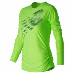 New Balance Women's Viz Long Sleeve Top