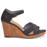 Toms Shoes Women's Sienna Denim Wedge