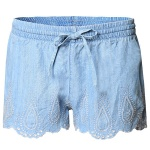 Dex Women's Embroidered Chambray Short