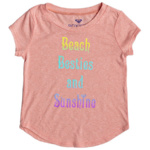 Roxy Girls' [2-7] Beach Besties T-Shirt