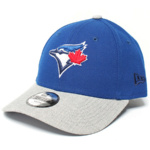 New Era Juniors' Heather Blue Jays Cap