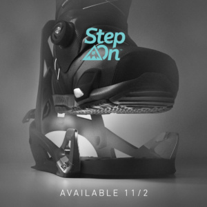 New From Burton: The Step-On System
