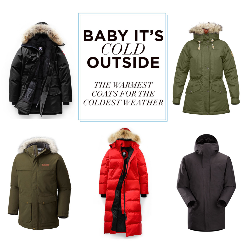 The Warmest Coats For the Coldest Weather